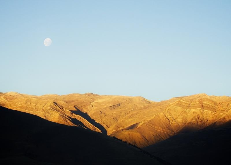 Moonrise, El Chaltén